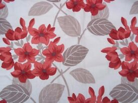 Maggie Leven designer for John Lewis fully lined plus Roman blind and door curtain only 2 months old