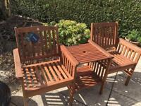 Garden Bench New