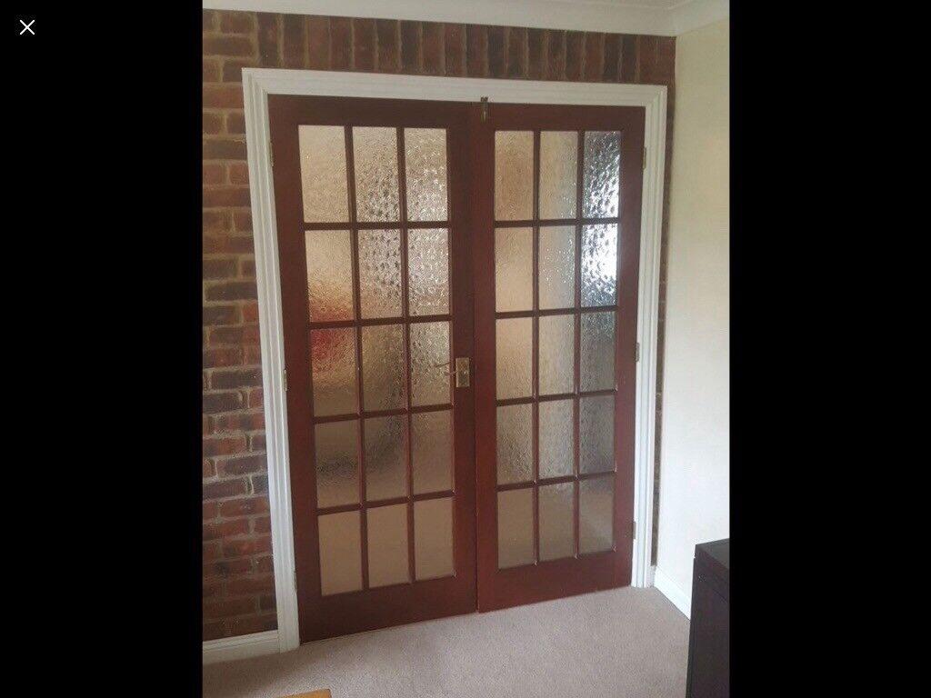 Doors Internal Double Glazed Doors Pair Of In Wimborne Dorset
