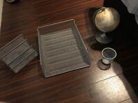 Desk Tidy Kit including globe