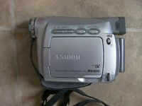 Canon Digital Camcorder, Almost As New, Boxed with Extras, £25