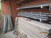 Used galvanised Kwikstage scaffold