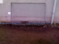 galvanised WINDOW GUARD approx 7x4ft great condition, each only