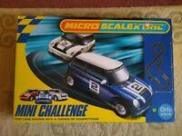 Micro Scalextric - Mini Challenge.