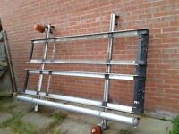 Ford Transit Roof Rack / van roof rack. With plumbers storage tube
