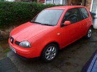 SEAT AROSA 900cc, FULL MOT, FULL HISTORY, NICE SPEC WITH ALLOYS (CHEAP INSURANCE & IDEAL FIRST CAR)