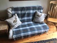 Double futon bed mattress & frame