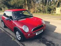 MINI ONE, LOW MILAGE £995
