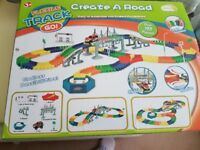 In excellant condition flxile track go kids game