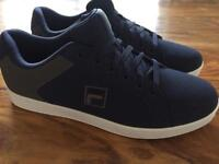 Brand new Fila men's size 10 trainers pumps shoes navy blue white