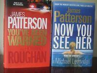 2 JAMES PATTERSON HARDBACK THRILLERS - (Kirkby in Ashfield)