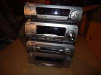stereo radio+speaker+stereo stand