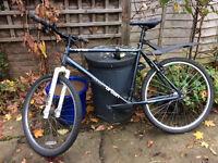 2 y.o. hybrid bike to sell