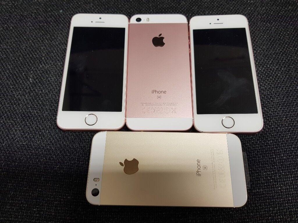 Apple Iphone Se 32gb Rose Gold Unlocked Part Exchange Considered