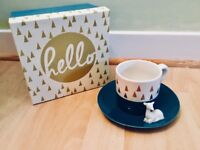 Brand New Gorgeous Cup & Saucer
