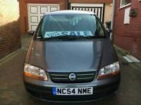 Fiat Idea 1.4L petrol, 12 months MOT, 2 previous owners 70k genuine MILES