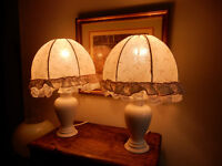 Pair of M & S Table Lamps - excellent condition