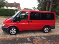Ford, TRANSIT TOURNEO, Minibus/Camper 2003, 1998 (cc)