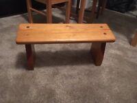 Yoga meditation bench stool