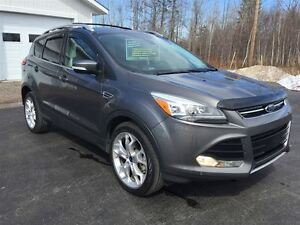 2013 Ford Escape Titanium|LEATHER,NAVIGATION,POWER GLASS MOONROO