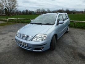 A well-maintained versatile estate car with a smooth 1.6 engine and Mot till September