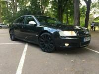 AUDI A8-4.0 DIESEL QUATTRO-2004-BLACK-AUTOMATIC-FULLY LOADED-FULLY CLEAN-RUN LIKE NEW-20 INCH ALLOYS