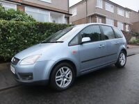 2005 '55 REG' FORD FOCUS C-MAX ZETEC 5 DOOR MPV / ESTATE +++LONG MOT & FULL SERVICE HISTORY+++