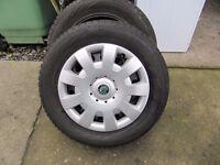 Skoda Yeti Winter Wheels & Tyres