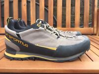 La Sportiva Boulder X Approach Shoes Used.