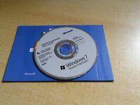 GENUINE WINDOWS 7 OEM DVD HOME EDITION WITH GENUINE KEY!