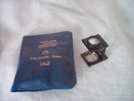 Shindler diamond scale mk2 jewellers loupe measure weight of stones