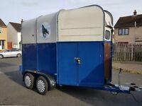 Double horse box/trailer