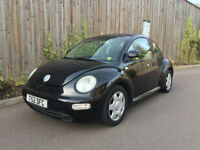 VW BEETLE + LEFT HAND DRIVE + 1999 T- UK PLATES + 64K FULL SERVICE HISTORY