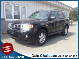 2011 Ford Escape XLT ($119 Bi-Weekly $0 Down Tax Inc.)*