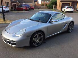 Porsche Cayman 2.7 (2007) Silver