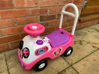 Disney Minnie Mouse My First Activity Ride-On Car 1-3 Years