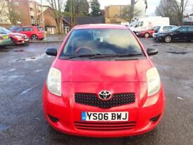 2006 TOYOTA YARIS 1 LITTER PETROL MOTED TAXED LADY OWNER QUICK SALE !!!!!