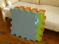 Childrens foam protection tumble mats