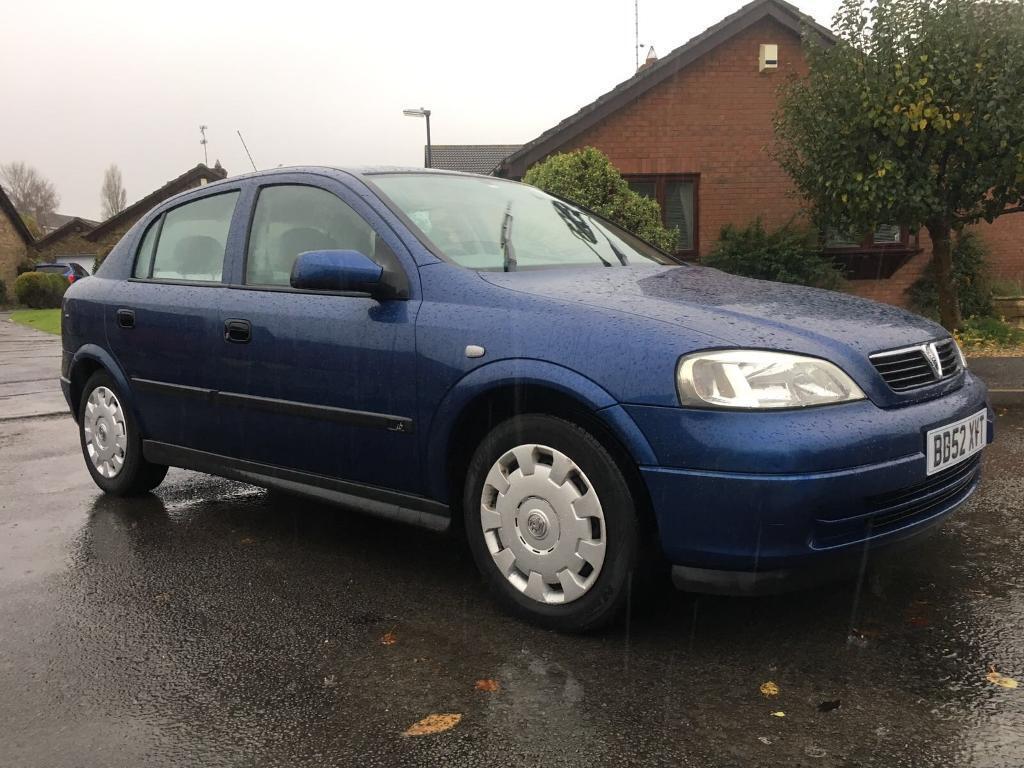 Vauxhall Astra 1.6, 5 door 77995 miles 12 months MOT