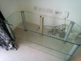 Up to 50 Inch Glass TV Stand