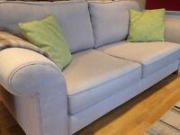 3 seater DFS sofa, excellent condition, neutral colour