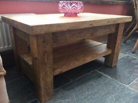 Pine Rustic Coffee Table
