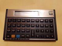 Hewlett Packard HP 12C Vintage Programmable Financial Calculator Made In USA