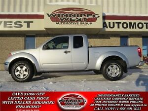 2008 Nissan Frontier SE-V6 4X4, LOADED, LOW KMS, LIKE NEW, LOCAL