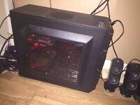i7 4790K, GTX 970, 144Hz, 5TB HDD+SSD Gaming PC Setup