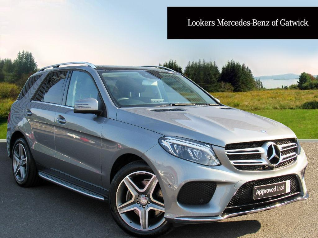 mercedes benz gle class gle 250 d 4matic amg line premium silver 2016 03 04 in crawley west. Black Bedroom Furniture Sets. Home Design Ideas