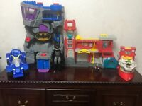Bundle of imaginext toys from smoke&pet free home