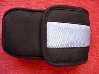 Nintendo DS storage pouch, black/blue colour