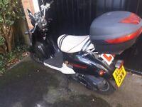 Directbike Retro Scooter 50cc 2012 Black