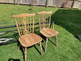 Chairs for up cycling